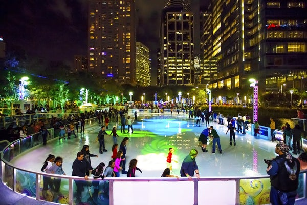 Houston The ICE Discovery Green