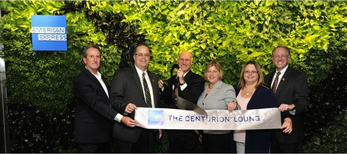 American Express opened The Centurion Lounge at George Bush Intercontinental Airport in Houston