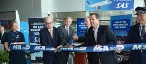 Miami welcomes Scandinavian Airlines