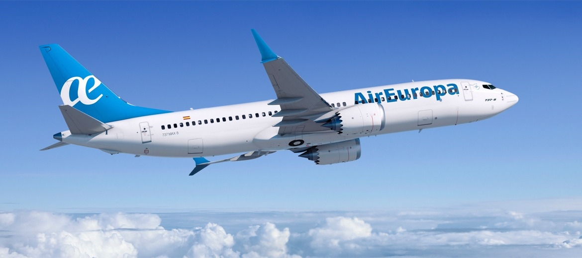 Boeing and Air Europa announced an order for 20 737
