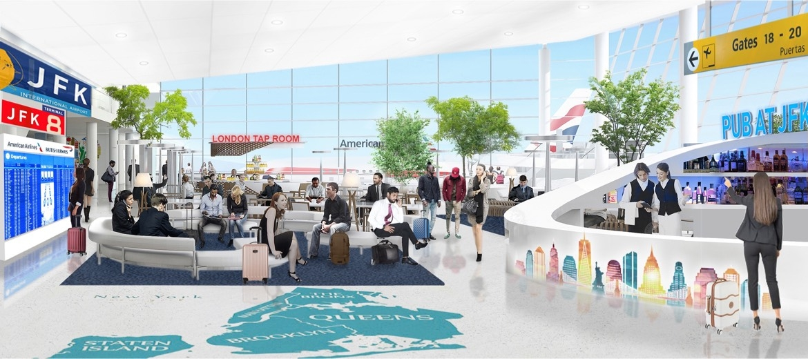 American Airlines and British Airways to unify operations at New York's John F. Kennedy International Airport